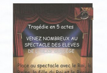 affiche spectacle ULIS